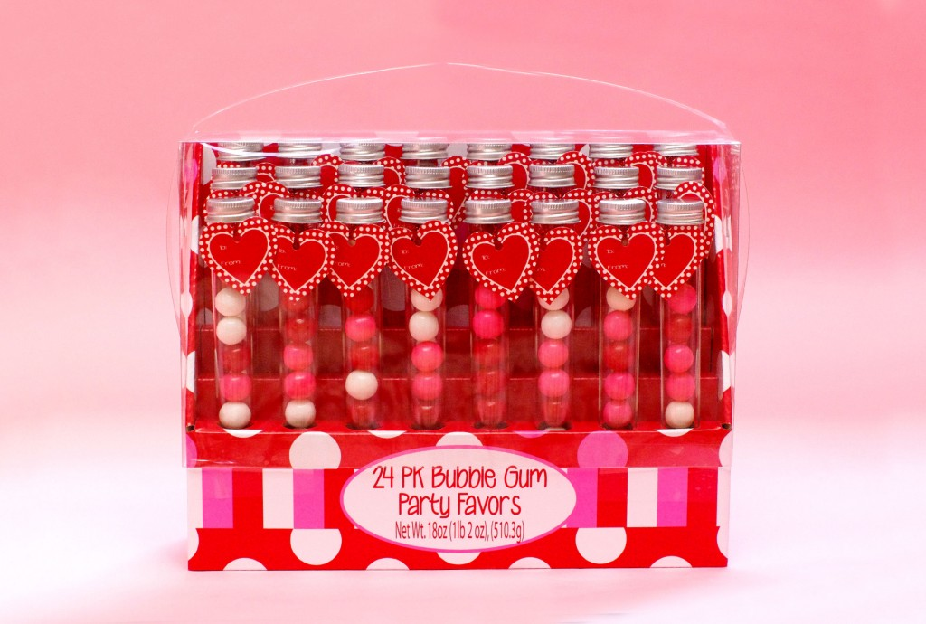 Valentine's Day Giveaway- 24 PK Bubble Gum Party Favors