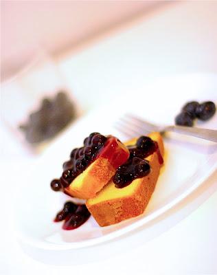Recipe- Blueberry Pound Cake