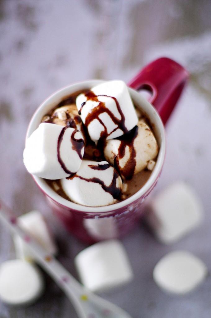 hot chocolate ganache