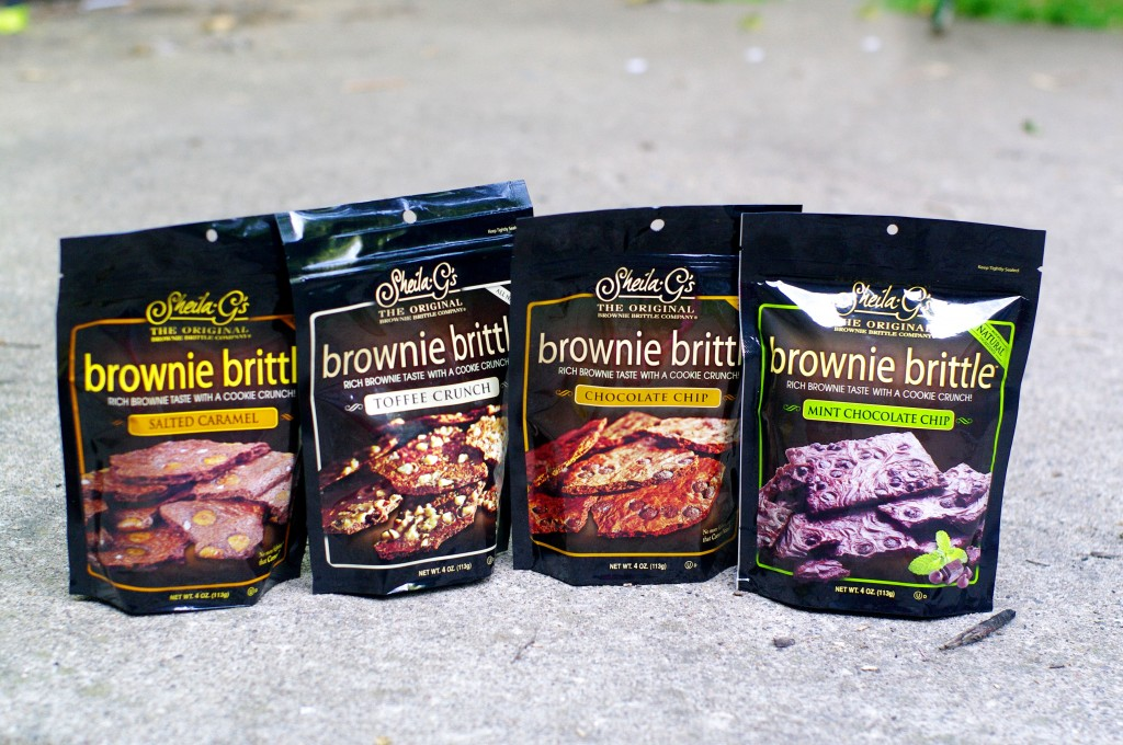 shelia G's Brownie brittles