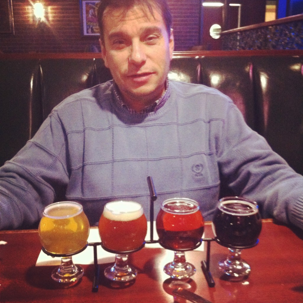 Mo'Brady Beer Flight