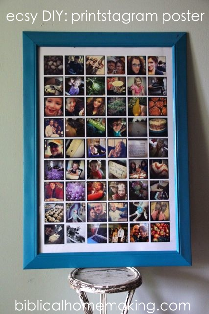 DIY Instagram Poster Ideas