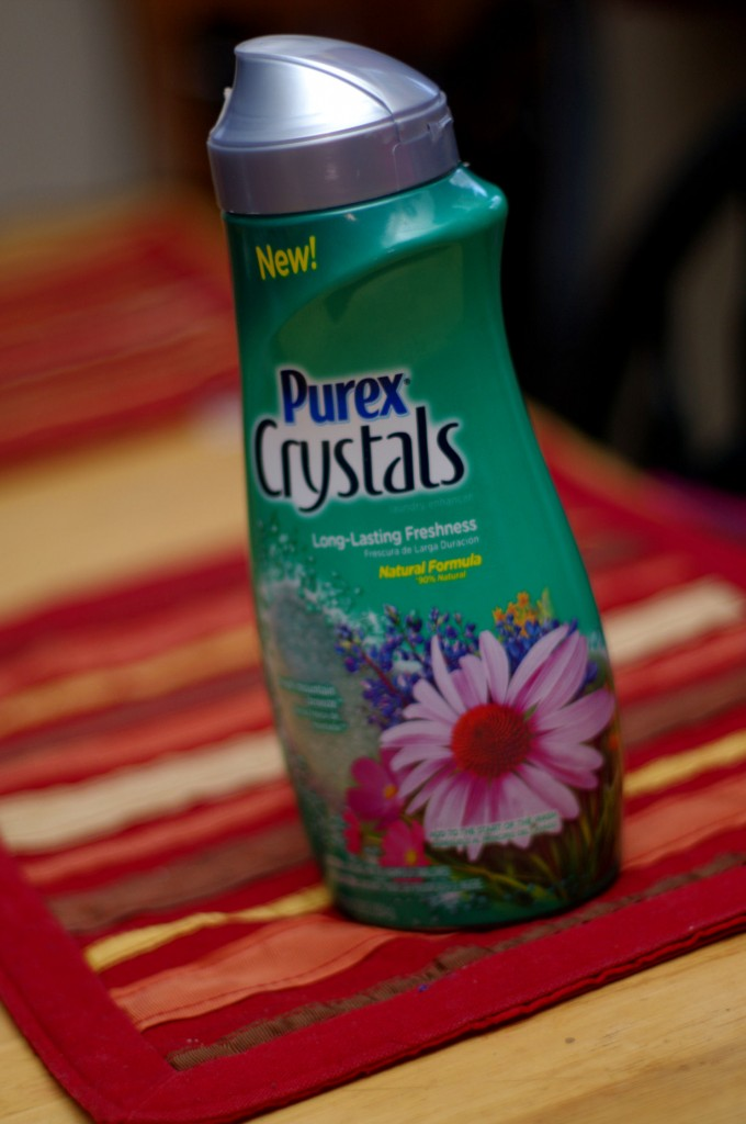 Smell Fresh with Purex Crystals/ Giveaway and Review Ends 2/14
