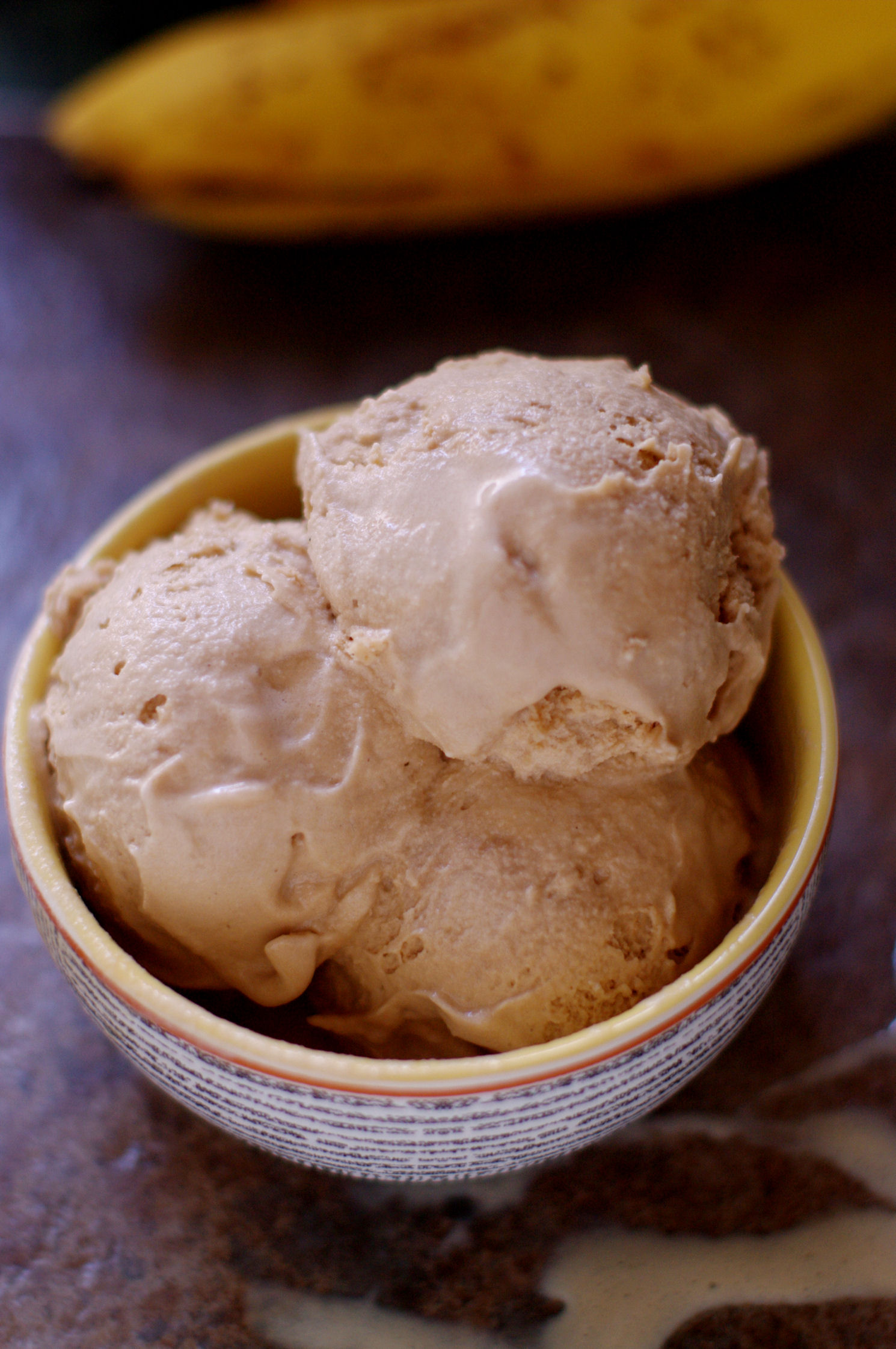 Two-Ingredient Banana Peanut Butter Ice Cream Recipe — Dishmaps