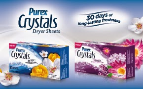 Our clothes never smelled so good and a Sweepstakes #PurexCrystals