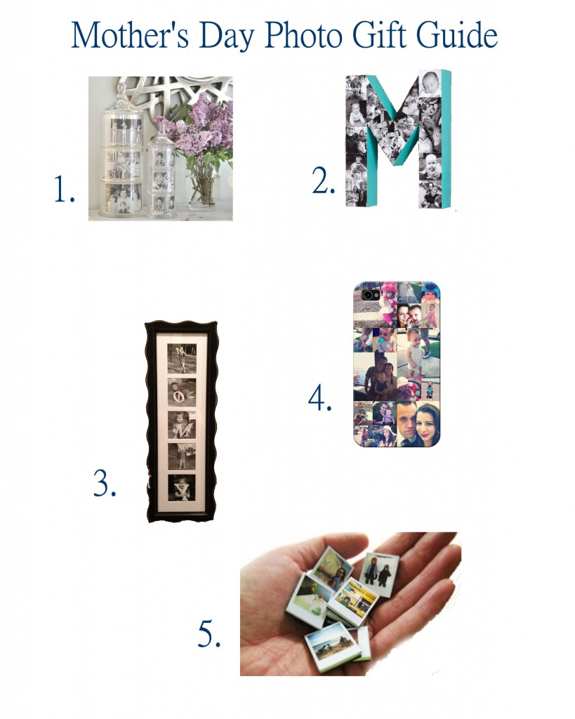 Photo Gift Guide For Moms