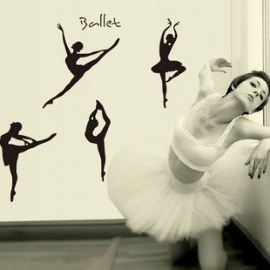 ballet wall decal