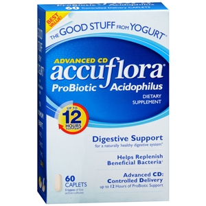 Keeping the tummy good with AccuFlora Probiotic