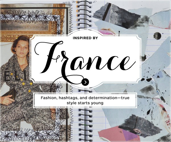 Inspiration via France – you're never too young to create