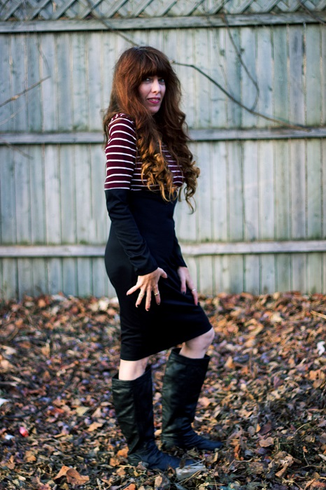 Look! I'm wearing a dress! Giveaway ends 1/16