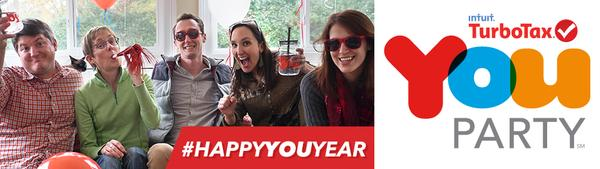 It's time to party with Turbotax! #HAPPYYOUYEAR