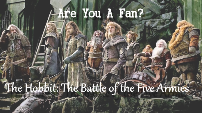 The Hobbit The Battle of The Five Armies is here! And a Giveaway
