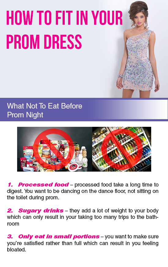 Fit Perfectly into your Prom Dress by Avoiding these Nightmarish Food-Related Scenarios