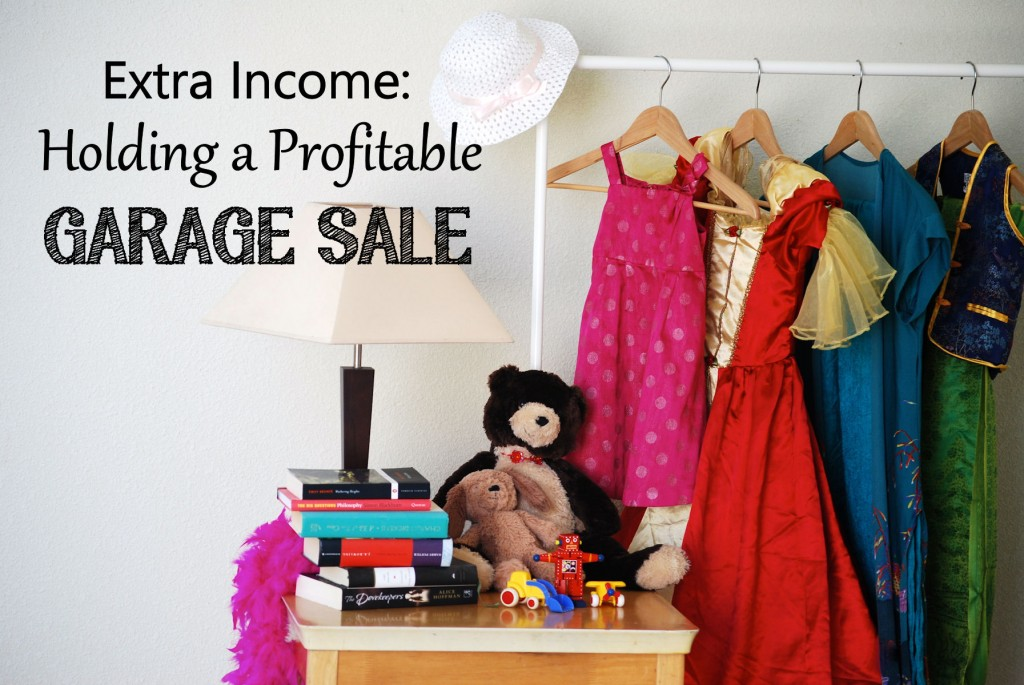 Running a profitable garage sale