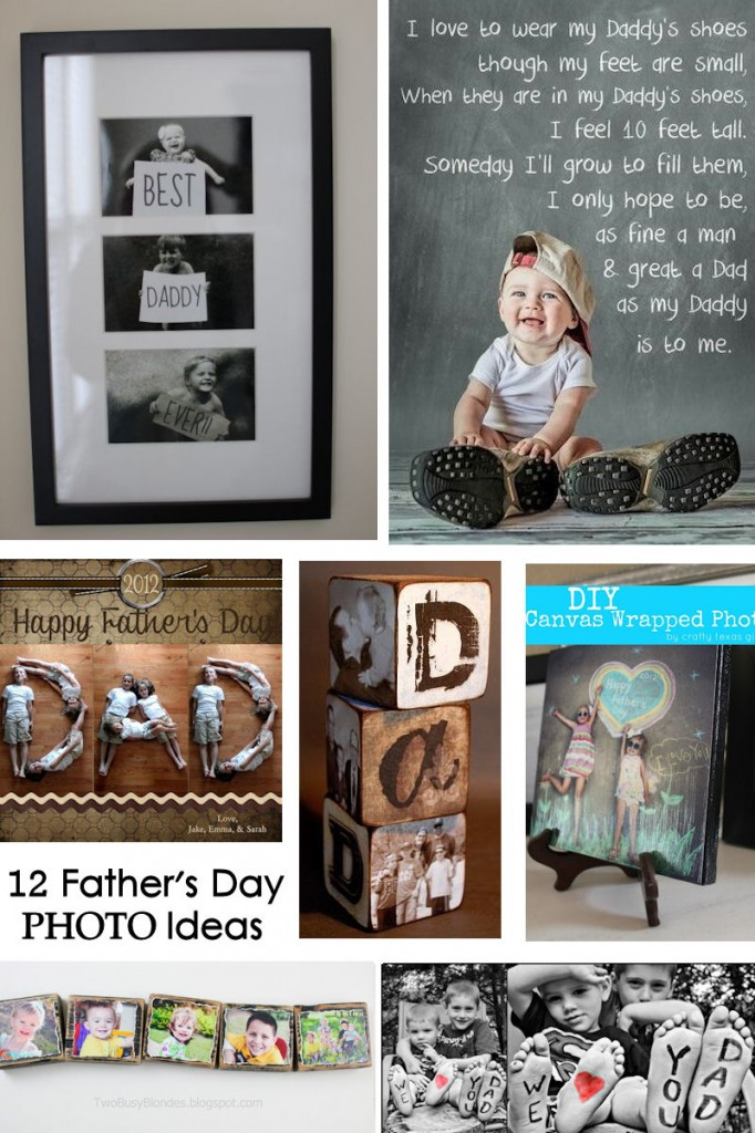Easy Father's Day photo crafts
