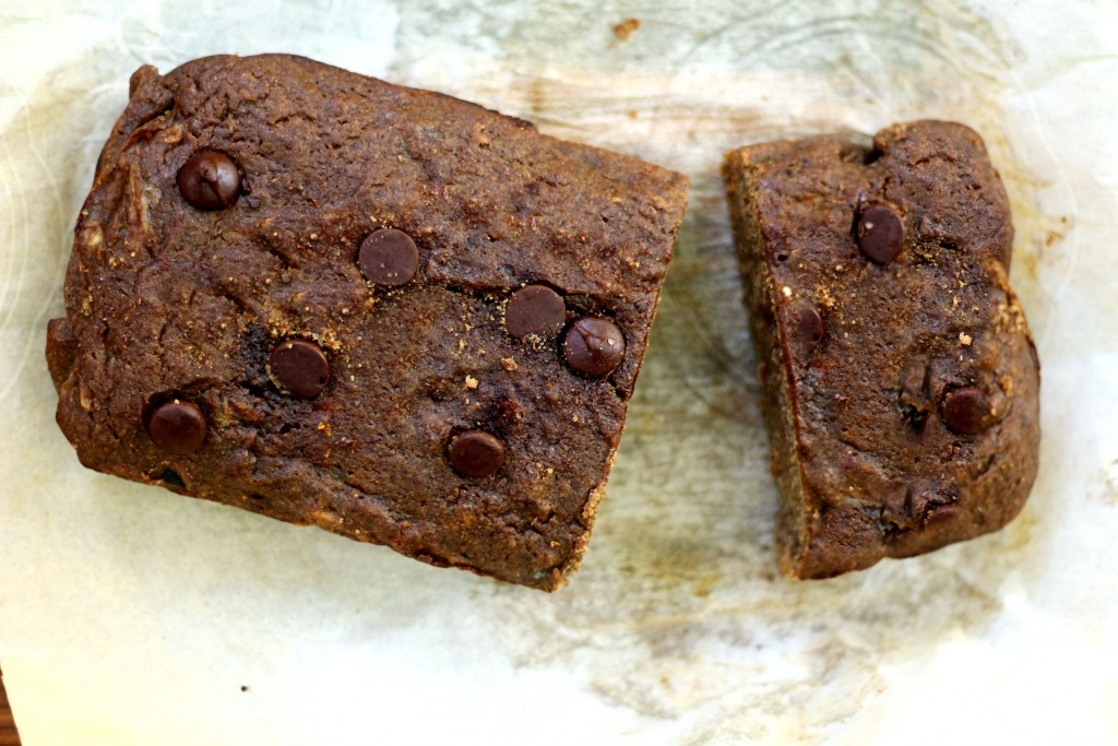 Chocolate Banana Flax Seed Bread