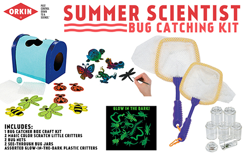 Orkin Mosquito Summer Scientist Giveaway #LearnWithOrkin