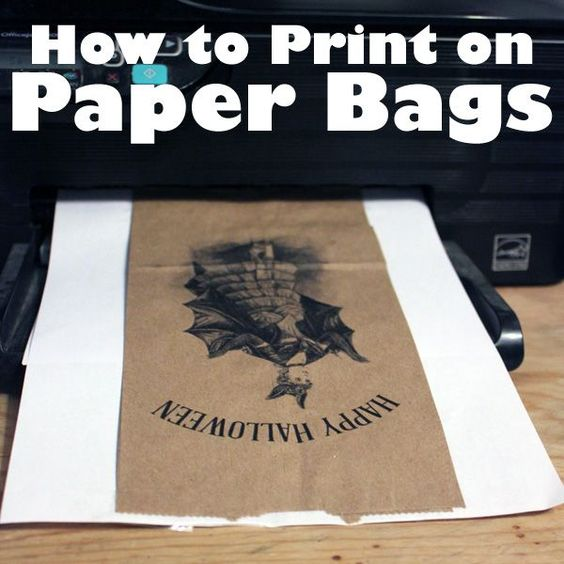 using your printer for crafts