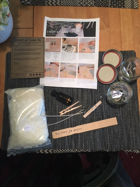 DIY Candle Kit-The Perfect Handmade Gift Idea! {Giveaway}