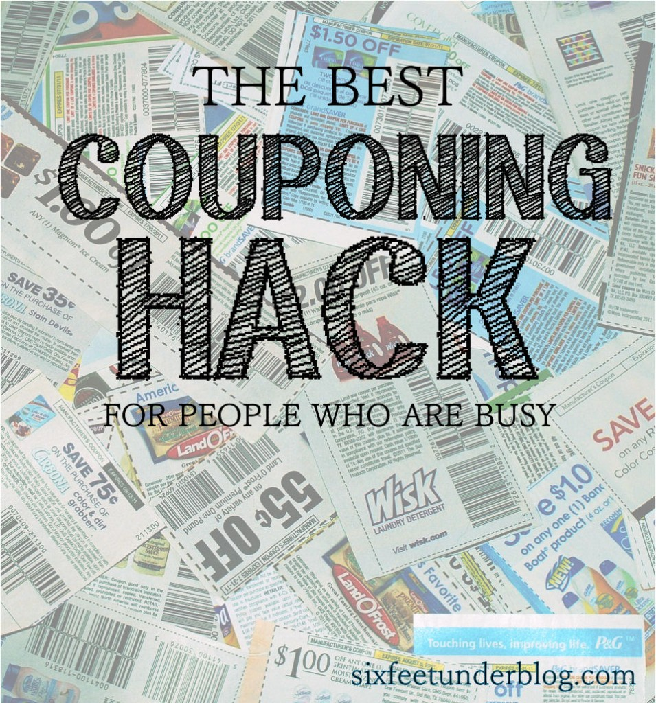 easy 10 minute coupon hack