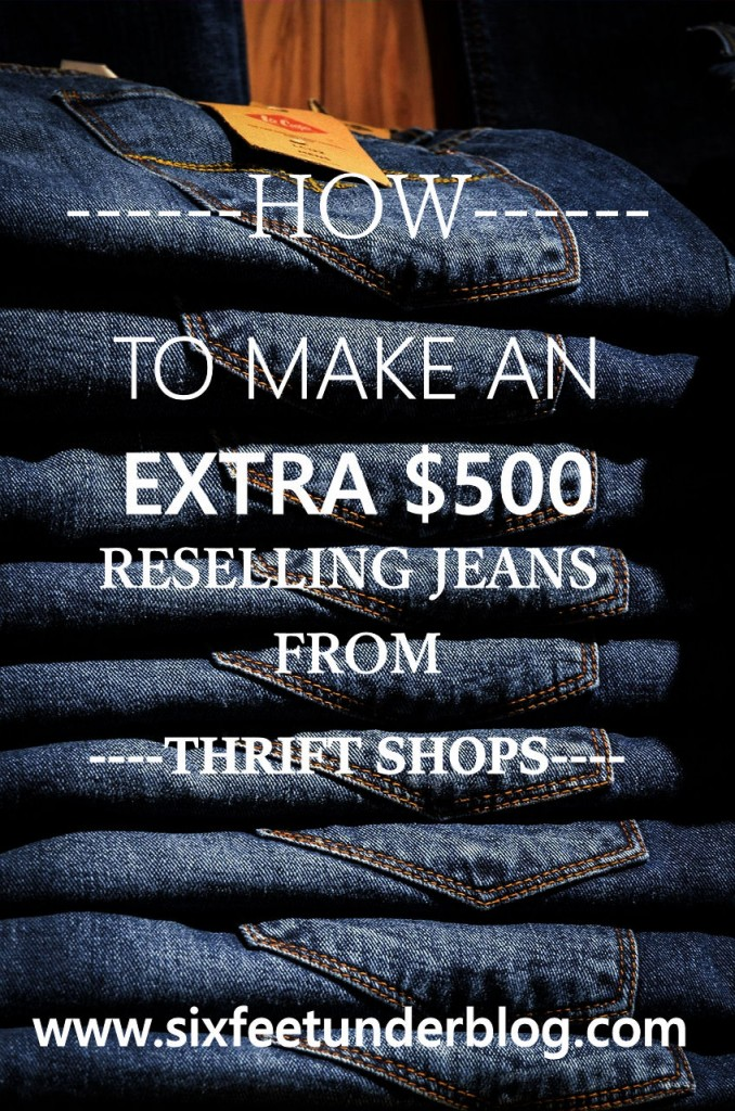 How to Make $500 a Month From Shopping at Thrift Shops
