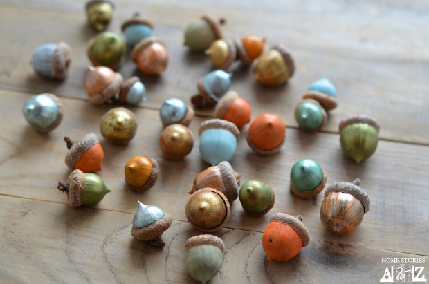 how-to-paint-acorns-for-fall