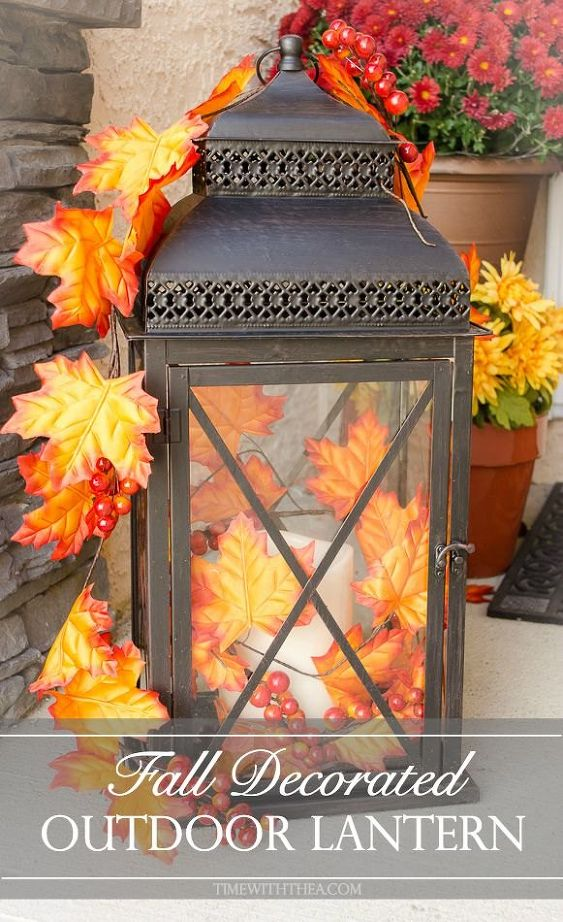 15 SIMPLE FALL DECORATING IDEAS