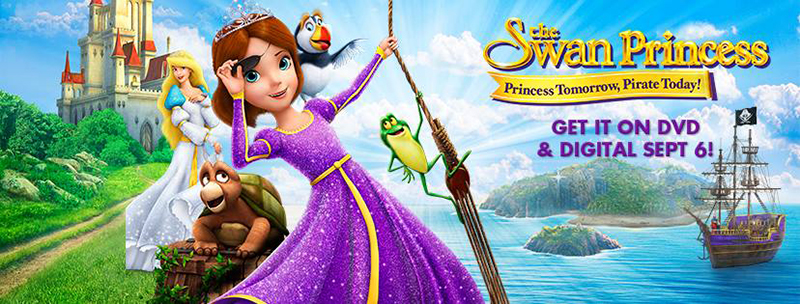 The Swan Princess: Princess Tomorrow, Pirate Today Review + Giveaway