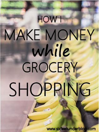 make money at grocery store using ibotta
