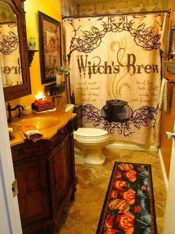 bathroom Halloween