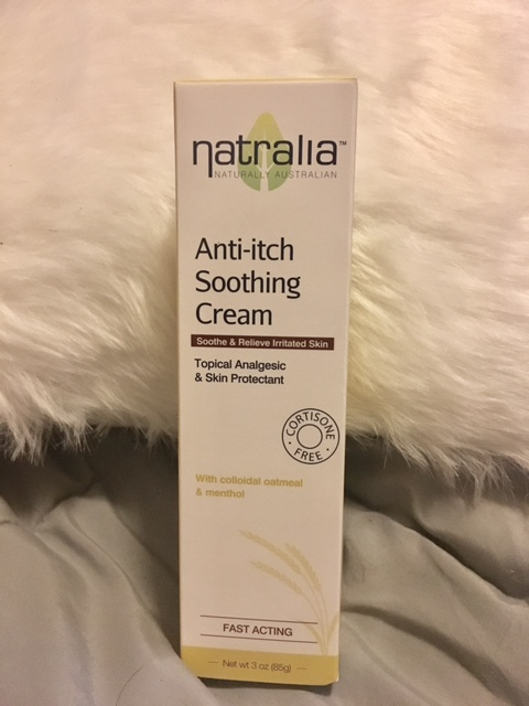 anti itch soothing cream