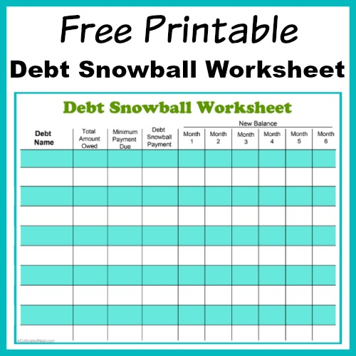 7 Printable Budget Worksheets That Really Help - Six Feet Under Blog