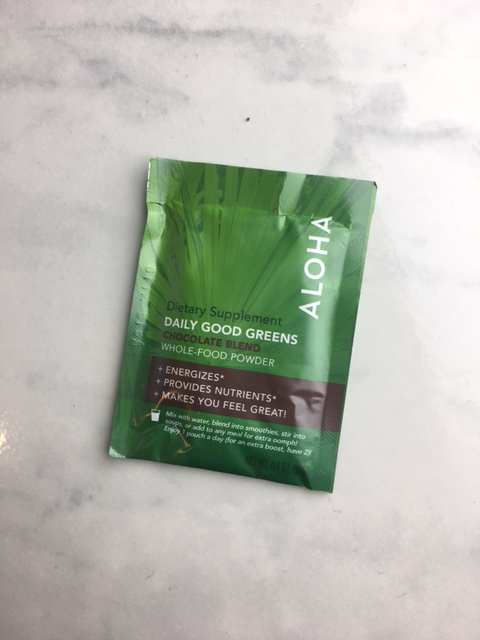 Aloha - Daily Good Greens review