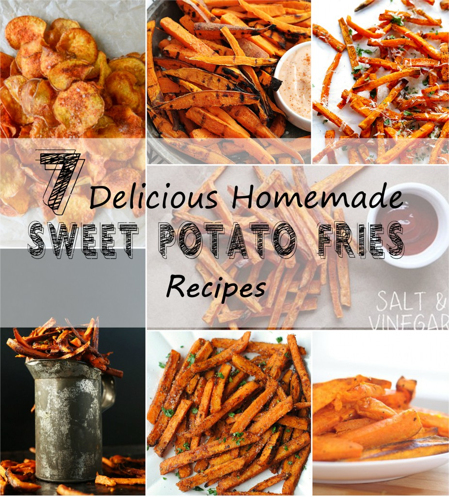 7 Delicious Homemade Sweet Potato Fries Recipes