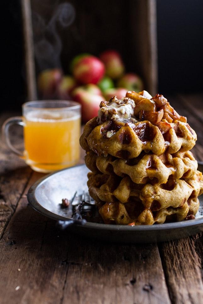 Cider-Pumpkin-Waffles