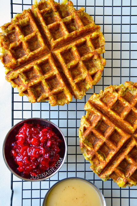 thanksgiving-leftover-stuffing-waffles-recipe