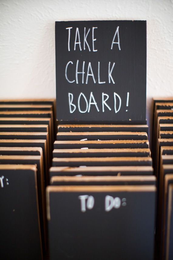 Mini-Chalkboards