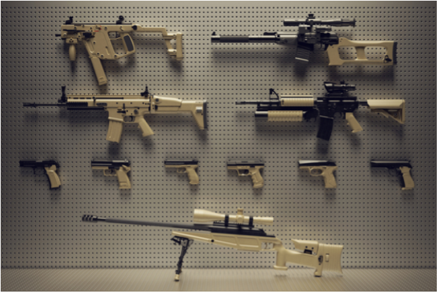 3 Eye-catching Ways to Display Your Firearms and Weapons Collection