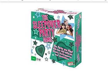 birthday sleepover game