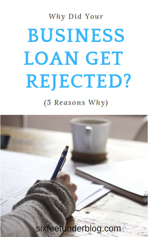 why did your business loan get rejected